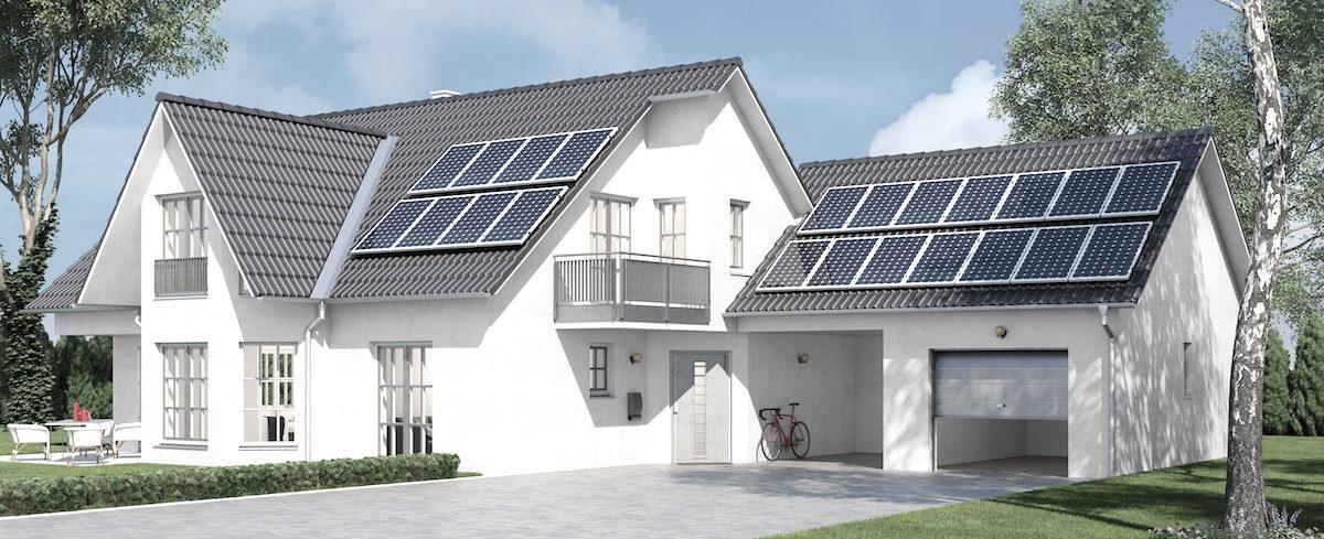 Schaffen Sie autarkes Wohnen mit dem Hausbau-Paket von HeWo!